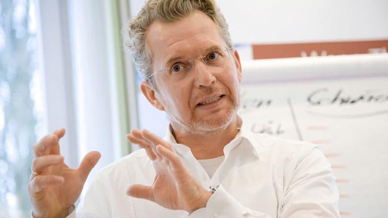 Erfolgsverhandler Kurt-Georg Scheible