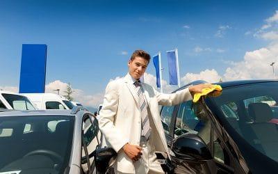 Autohandel enttäuscht beim Verkauf
